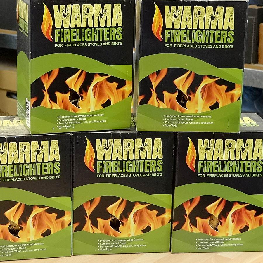 Odourless Firelighters